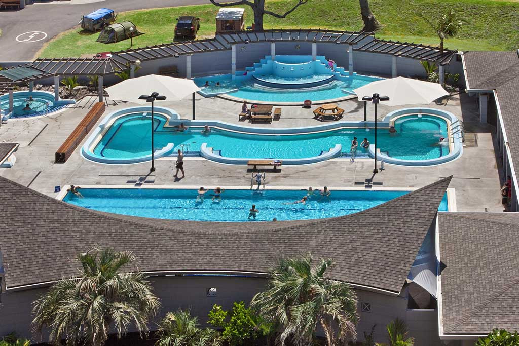 Mount hot pools all nz 39 s hot pools in for Swimming pool design new zealand