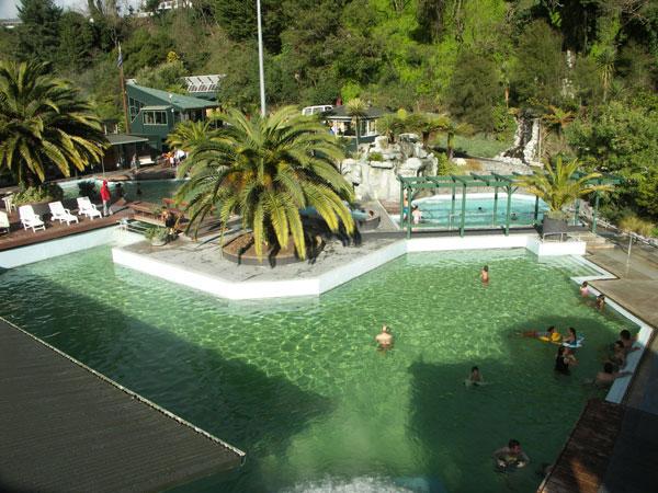 Spa Park Hot Springs Taupo
